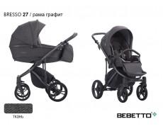 BEBETTO BRESSO 2021 3 в 1 ТКАНЬ
