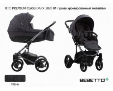 BEBETTO TITO PREMIUM CLASS DARK 2020 3 в 1