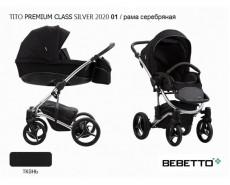 BEBETTO TITO PREMIUM CLASS SILVER 2020 2 в 1