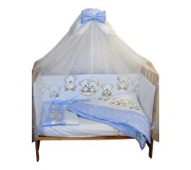 БАЮ БАЙ МИ МИ МИШКИ 3 ПР для овальной кроватки
